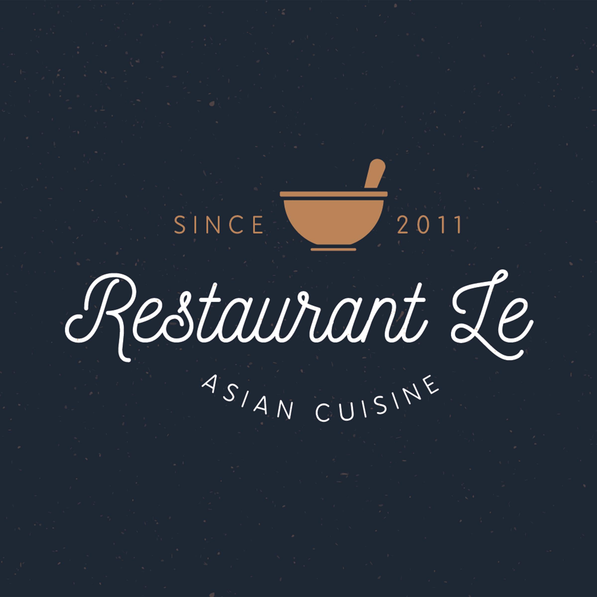 Restaurant LE logo