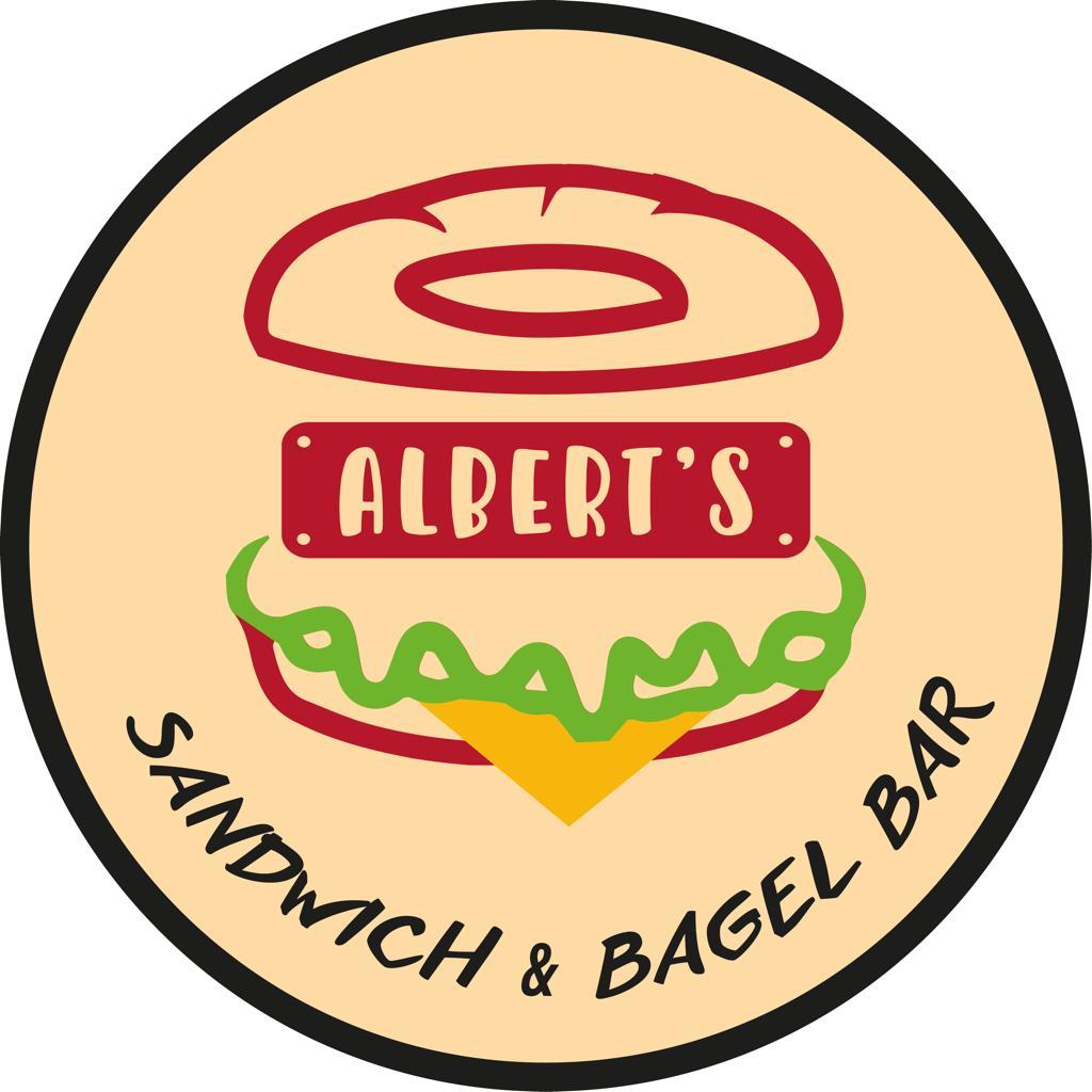 Alberts Sandwich & Bagel Bar logo