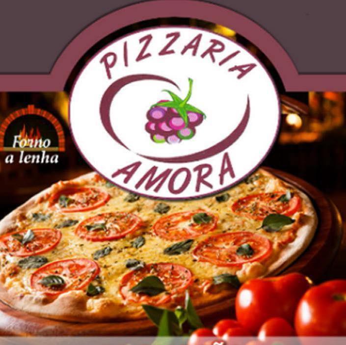 Amora Pizza logo