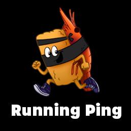 Running Ping logo