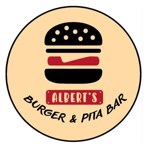 Alberts Burger & Pita Bar logo