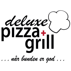 Deluxe Pizza & Grill logo